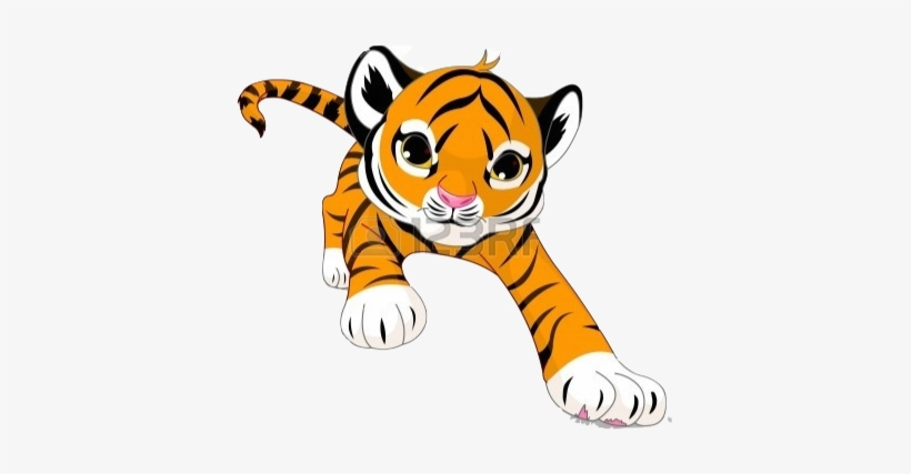 Paws Clipart Cub Scout - Foot Print Of Tiger - Png Download (#9301) -  PinClipart