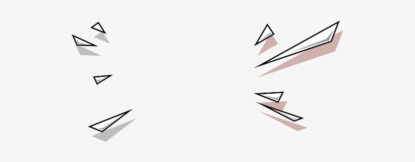 burst effect geometric triangles freetoedit modern design elements 537x240 png download pngkit burst effect geometric triangles