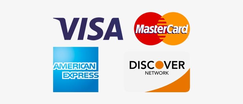 Visa Mastercard Discover Logos - American Express - 14x14 PNG