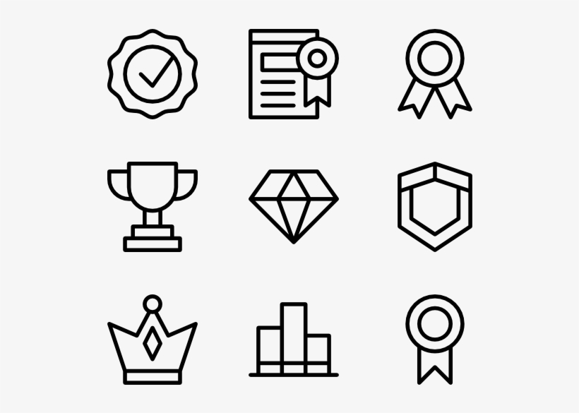 Awards Resume Icon For Awards Transparent 600x564 Png Download