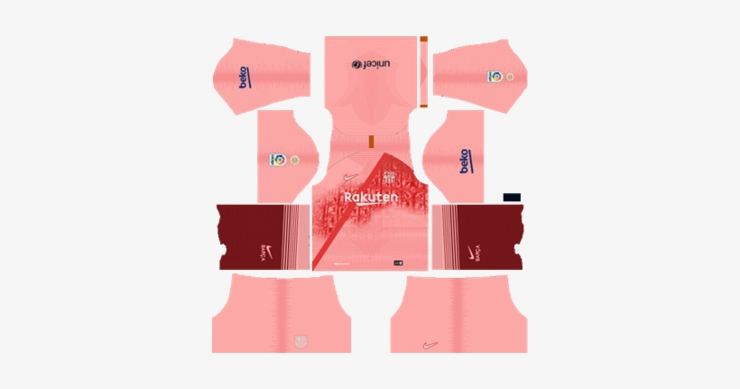 Barcelona Third Kit 2018-19 Dream League Soccer Kits - Kit Dls