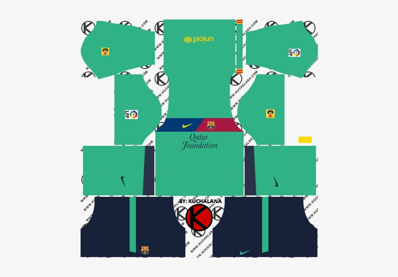 Barcelona Kits 2011/2012 - Kit Arema Dream League Soccer 2018