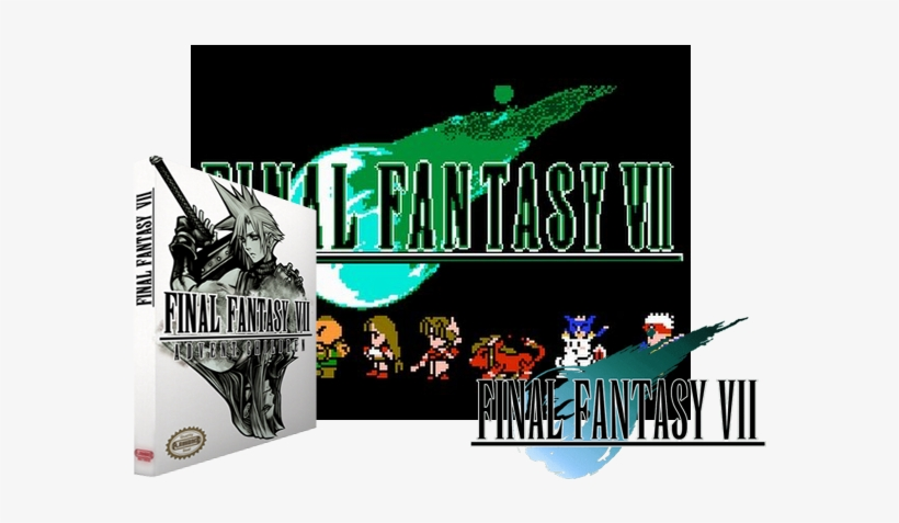 Final Fantasy Vii Advent Children Nes Rom Hack Boxart Final