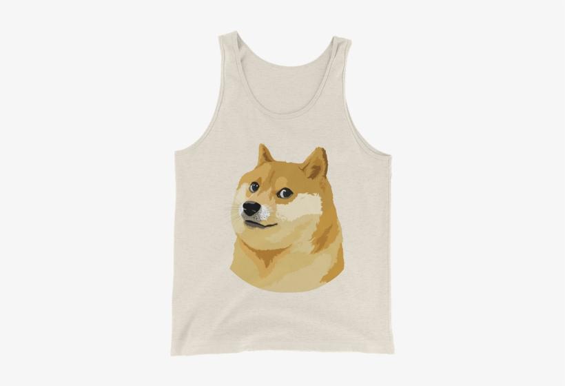 Download Transparent Dogecoin Doge Logo Tank - Doge Dog ...