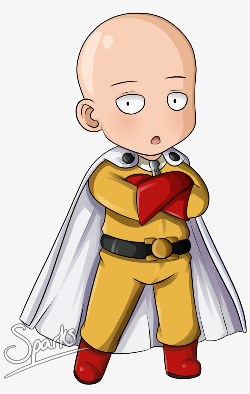 One Punch Man Chibi Anime Manga Transprent One Punch Man