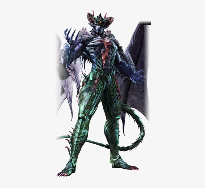 Tekken 6 Yoshimitsu Tekken 6 Devil Kazuya Mishima 391x672 Png