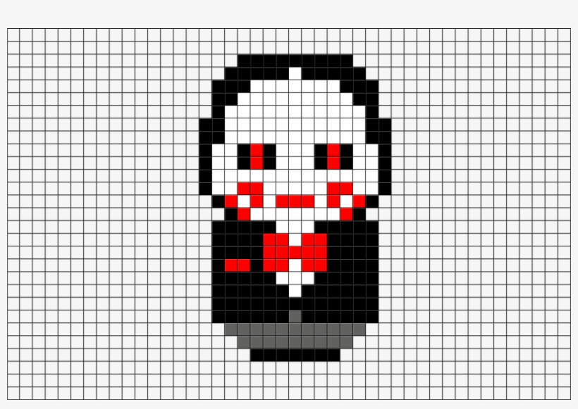 Billy The Puppet Pixel Art 880x581 Png Download Pngkit