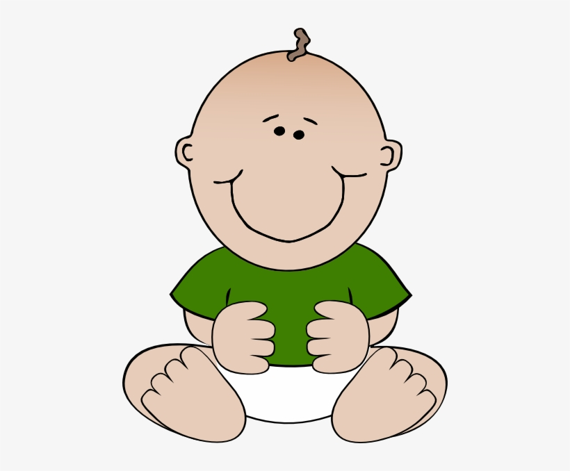 How To Set Use Sitting Baby Green Shirt Icon Png Gambar Kartun Bayi Laki Laki 468x598 Png Download Pngkit