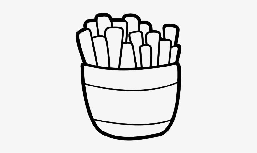 Desenho De Batata Frita 600x470 Png Download Pngkit