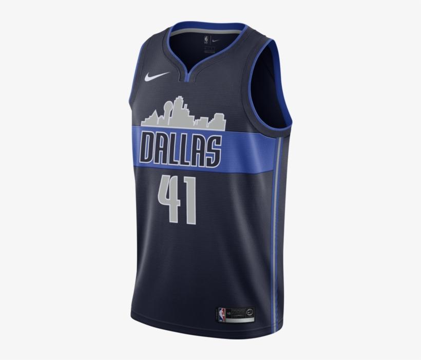 best website f5794 514b0 Dallas Mavericks Dirk Nowitzki Nike Statement Swingman ...