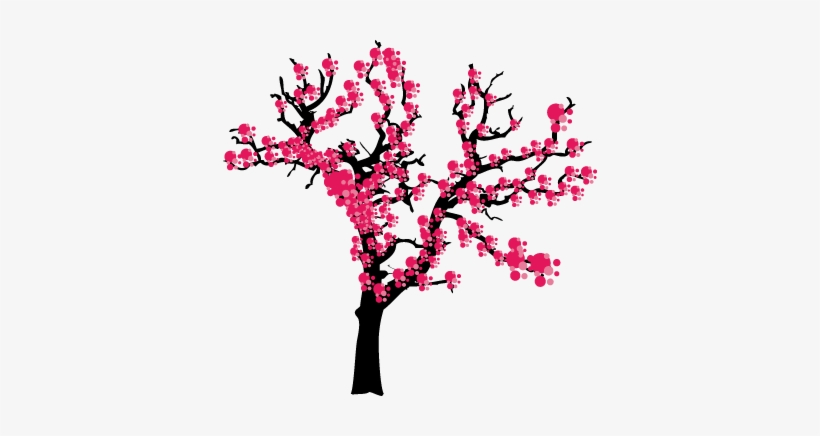 Spring Japanese Tree Wall Sticker Cartoon Blossom Tree 374x356 Png Download Pngkit Format3dsmax 2015 + fbx :: spring japanese tree wall sticker