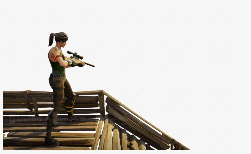 Fortnite Win Template Sniper On Stairs Fortnite Thumbnail Template Fortnite Sniper Png 850x479 Png Download Pngkit