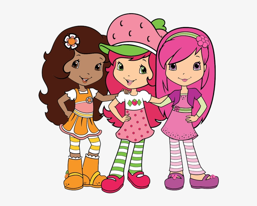 Strawberry Shortcake And Friends Png Strawberry Disney 587x580