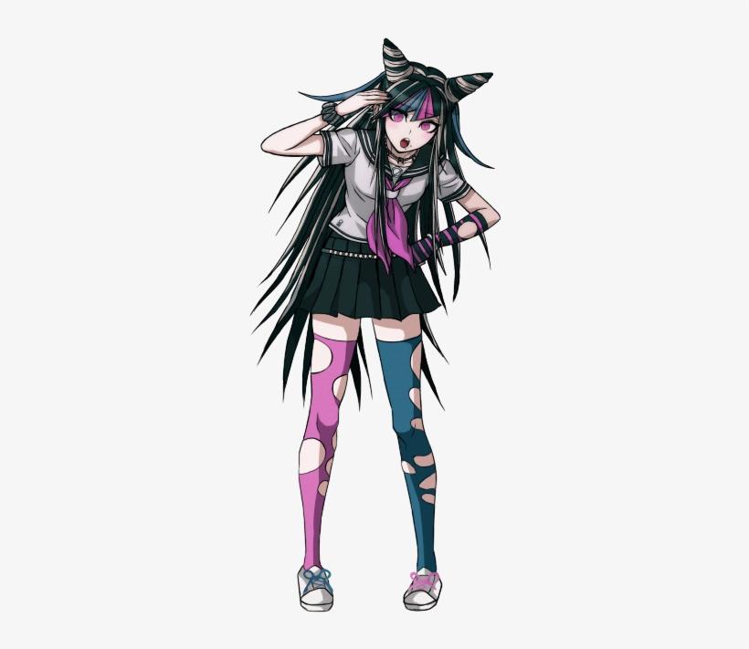 Ibuki Mioda Full Body Sprite 500x647 Png Download Pngkit