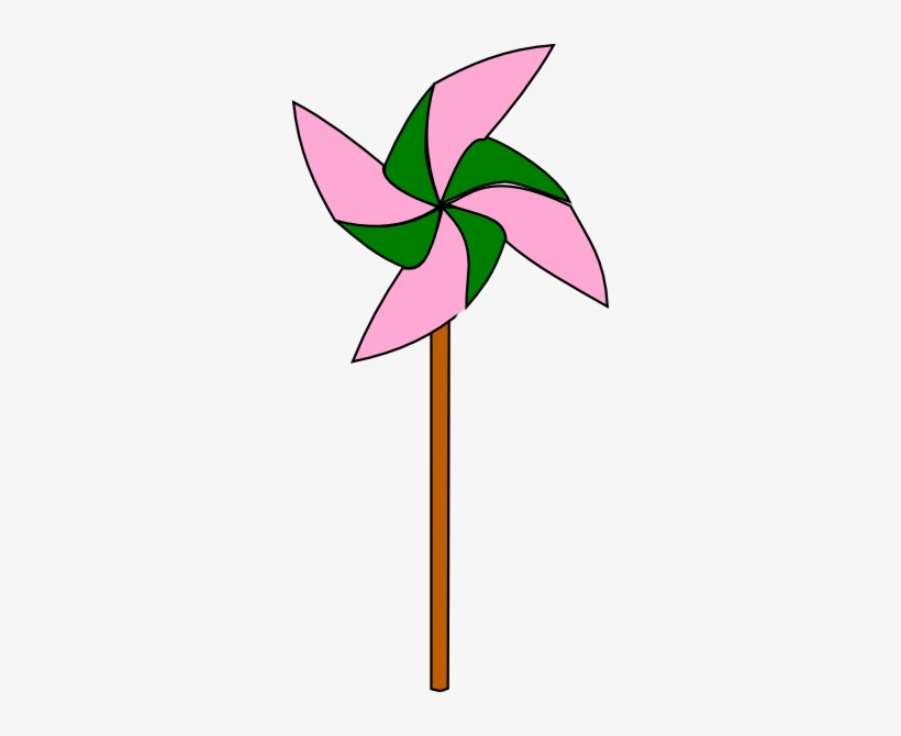 How To Set Use Light Pink And Green Pinwheel Icon Png White And Pink Pinwheel 288x590 Png Download Pngkit
