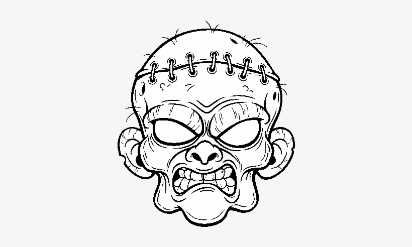 Dibujos De Zombies Para Colorear 600x470 Png Download Pngkit