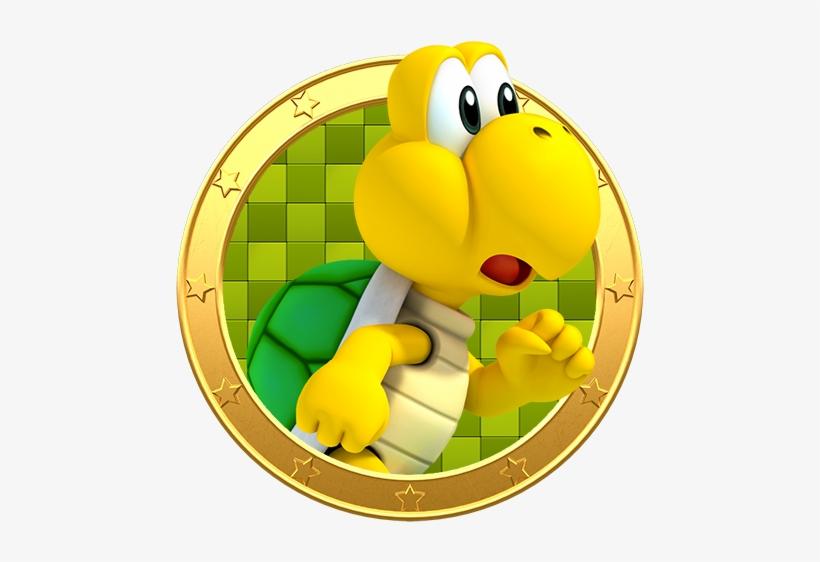 Koopa Troopa Koopa Troopa Mario Party 500x500 Png Download