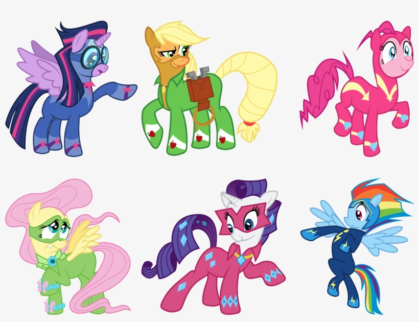 - Related Coloring Pages - My Little Pony Power Ponies Coloring Pages -  5000x3611 PNG Download - PNGkit