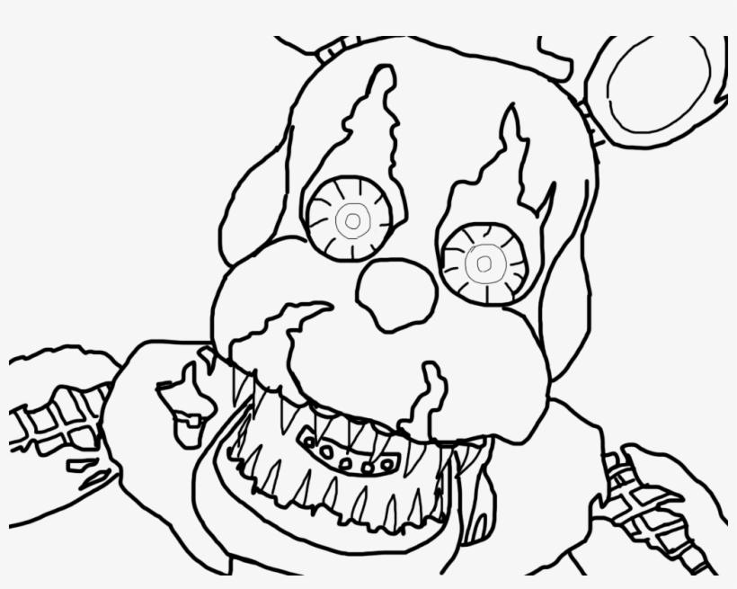 Nightmare Freddy Base By Howlinghill On Deviantart Dibujo