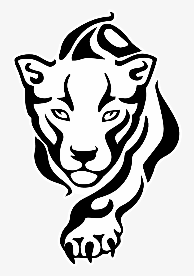 Chinese Drawing Panther - Panther Head Drawing, transparent png