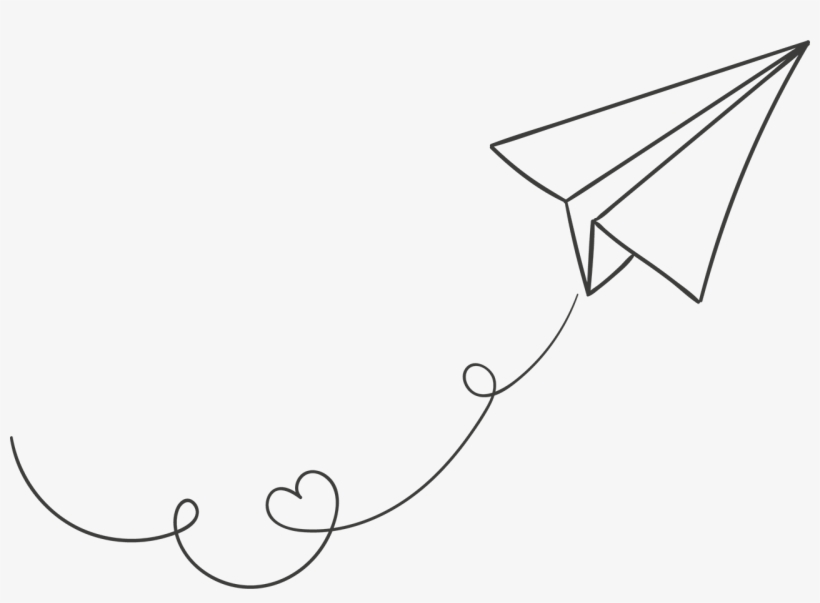 White Paper Plane Png Image Flying Paper Airplane Png 1280x879
