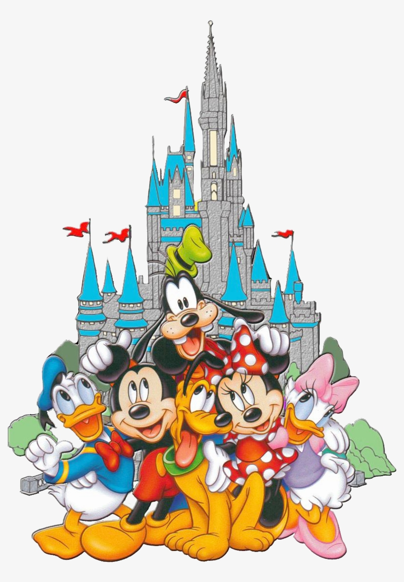 Disneyland Clipart Clear Disney Characters Transparent Background 500x500 Png Download Pngkit