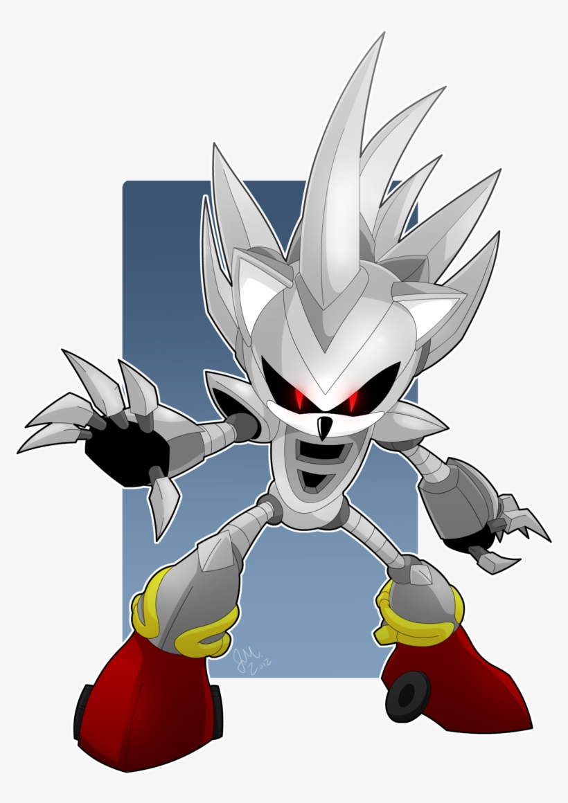 Sonic The Hedgehog Images Silver Sonic Hd Wallpaper Silver Do Sonic 900x1122 Png Download Pngkit