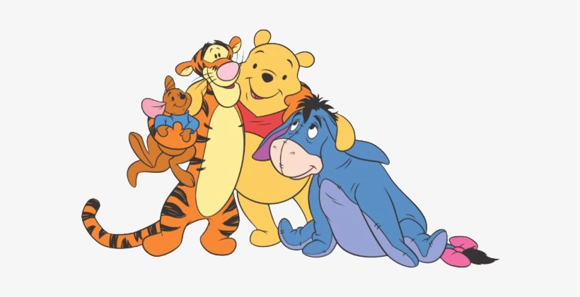 Head Clipart Winnie The Pooh - Winnie The Pooh Head - Png Download  (#1261874) - PinClipart