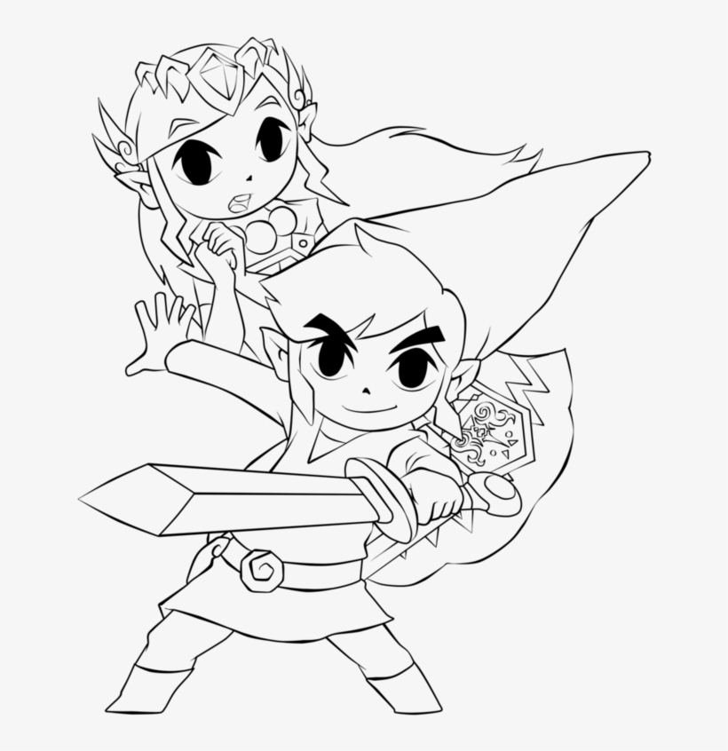 139 Best Legend of Zelda coloring pages images in 2020 | Coloring ... | 846x820