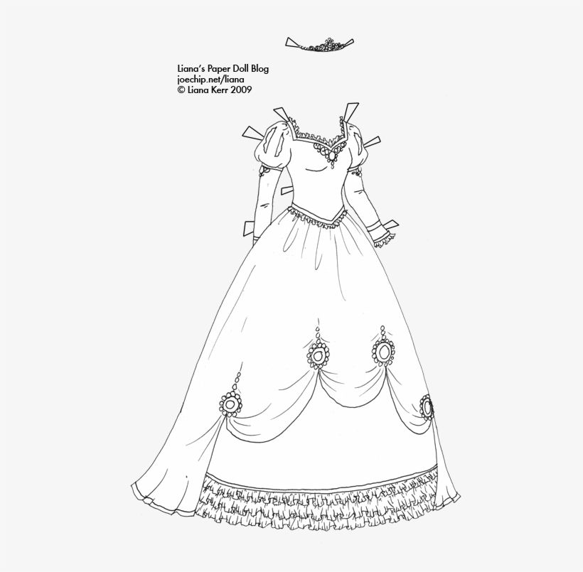 Dress Coloring Pages - GetColoringPages.com | 805x820