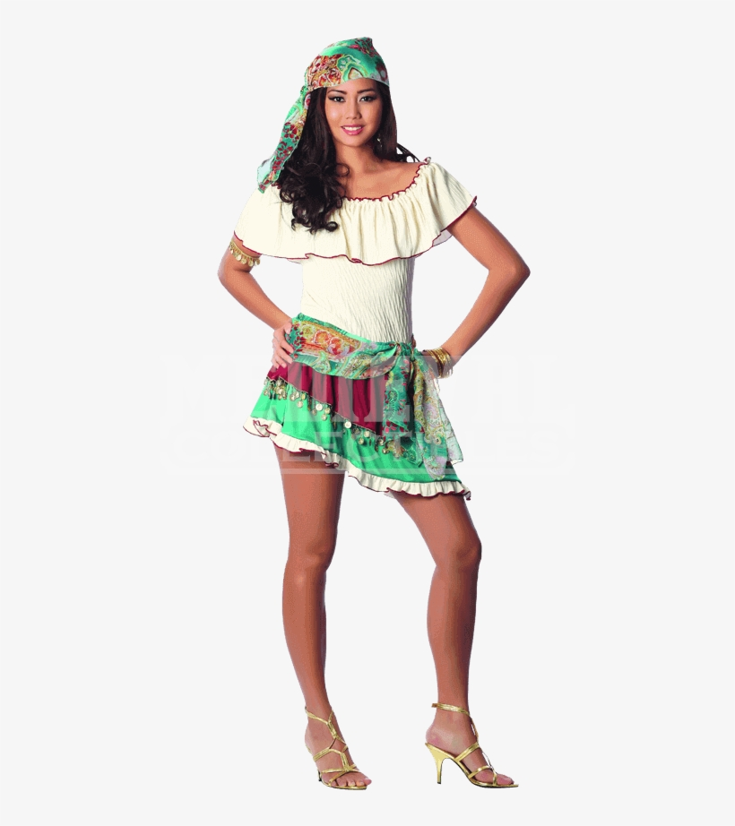 Gypsy Rose Costume Gypsy Costume Diy Sexy 850x850 Png