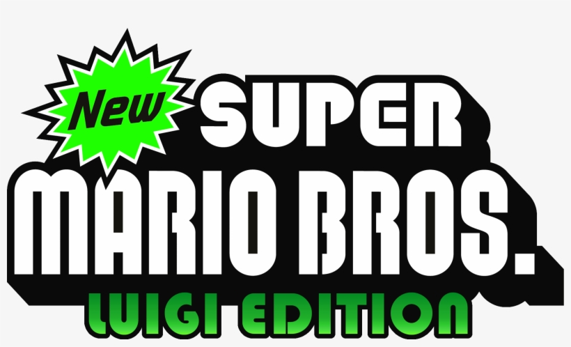 Luigi Edition Is A New Bros Nintendo Logo Luigi New Super Mario