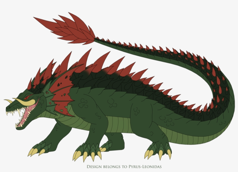 Lizzie The Crocodile 2018 Redesign By Pyrus Leonidas Lizzie The