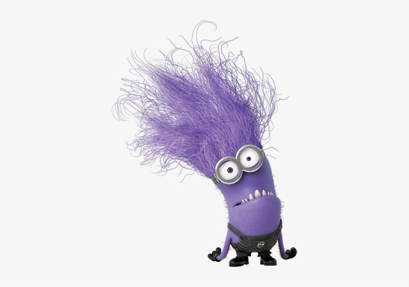 Minions Transparent Purple Minion - Purple Minion ...