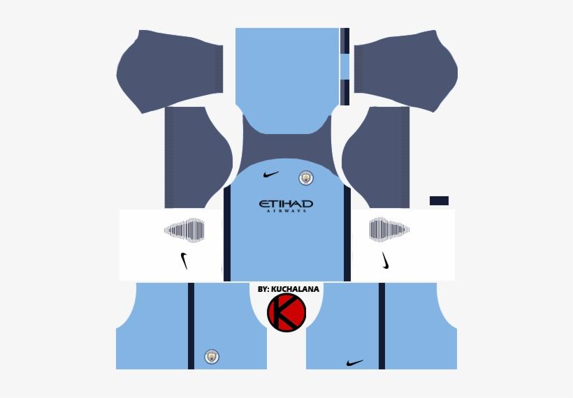 d22072fa8ec Manchester City Kits 2016/2017 - Spain Kit Dream League Soccer 2018 ...