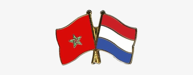 Morocco Maroc Logo Flag Drapeau Netherlands Holland Spain And