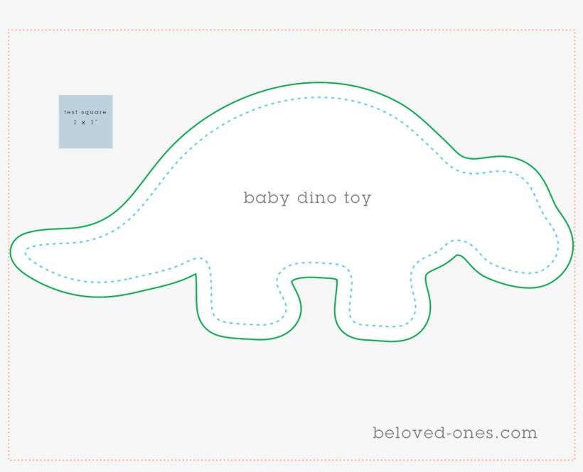 Below Is The Baby Dino Sewing Pattern Free Printable Dinosaur