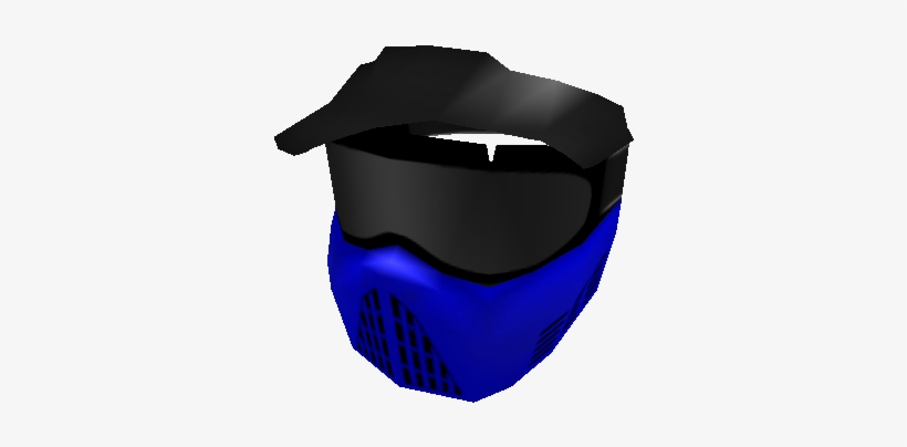 Blue Paintball Mask Black Mask Roblox 420x420 Png Download Pngkit