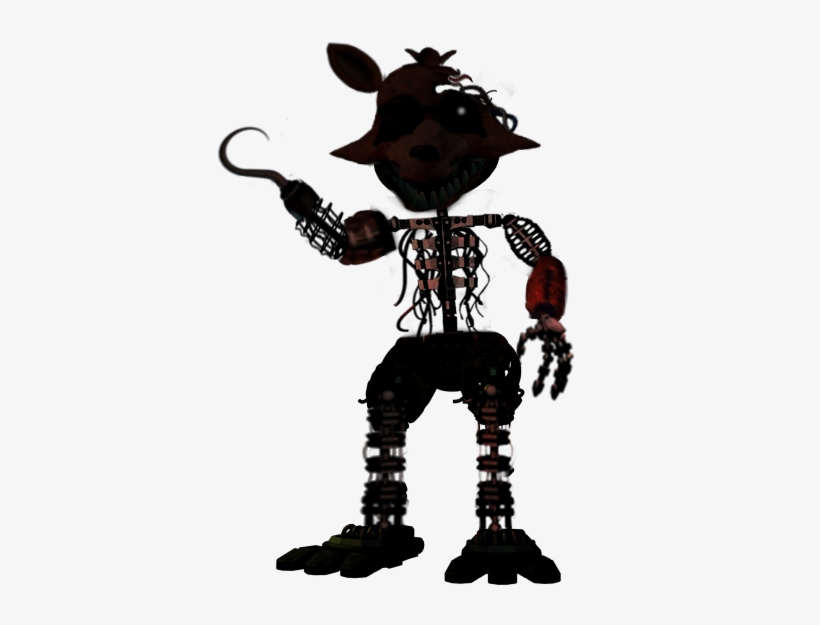 The Joy Of Creation Withered Foxy By - Fnaf Joy Of Creation
