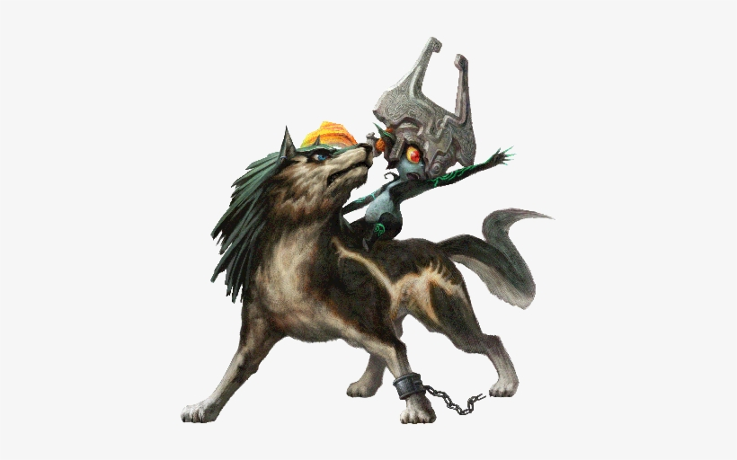 The Legend Of Zelda Wolf Link Twilight Princess Hd 460x460 Png Download Pngkit