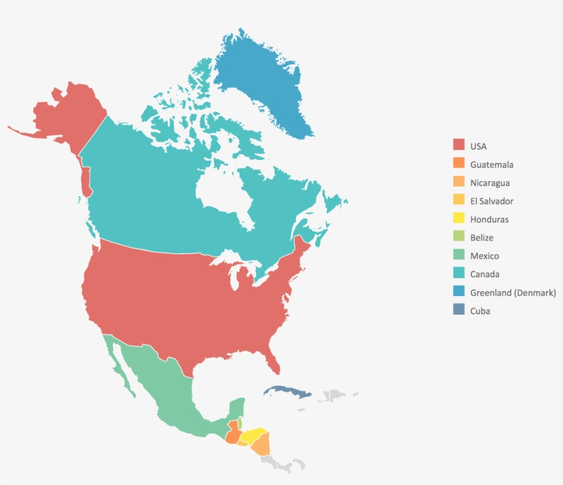 Map Of America Png.North America Map High Resolution North America Map 2040x1430