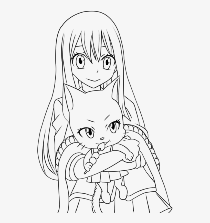 Fairy Tail Lineart -natsu With Lucy And Erza By Natsu9555 - Fairy ... | 873x820