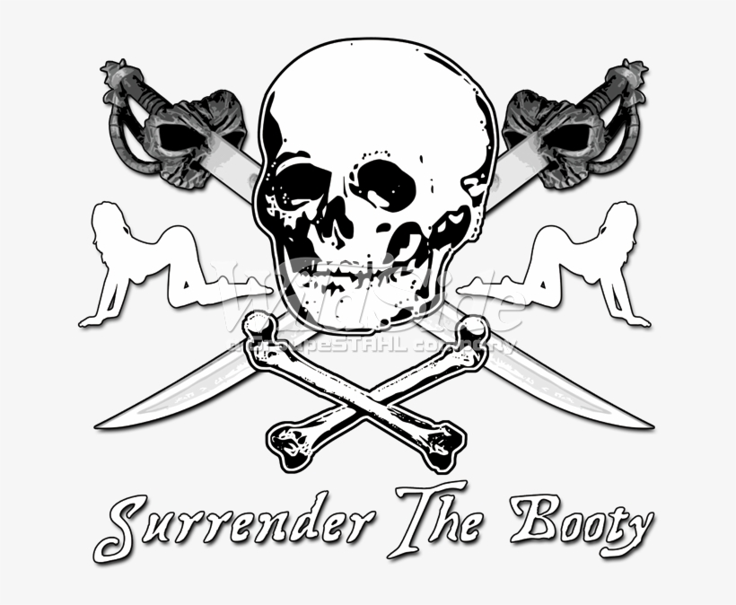 Surrender The Booty Cartoon 675x675 Png Download Pngkit