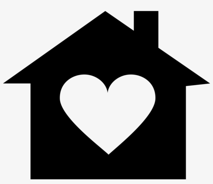Sensational Heart Clipart House House With A Heart Png 1000X1000 Png Home Remodeling Inspirations Genioncuboardxyz