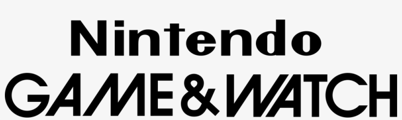 Xmkjy7j Nintendo Game And Watch Logo Png 1000x250 Png Download Pngkit