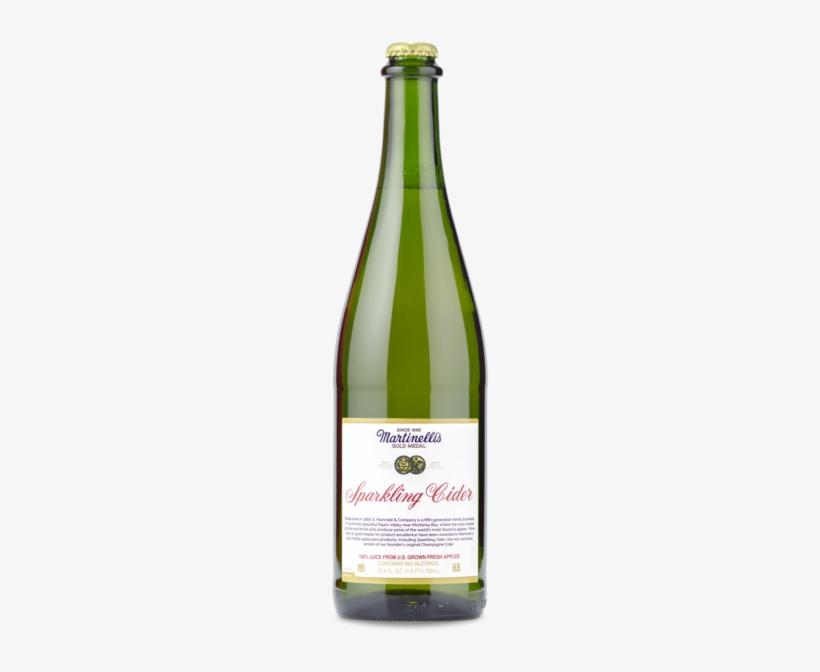Martinelli S Sparkling Apple Cider Apple Cider Drink Bottle 200x600 Png Download Pngkit