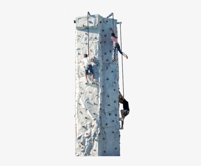 24 Foot Rock Climbing Wall Available To All Ages On New York 236x599 Png Download Pngkit