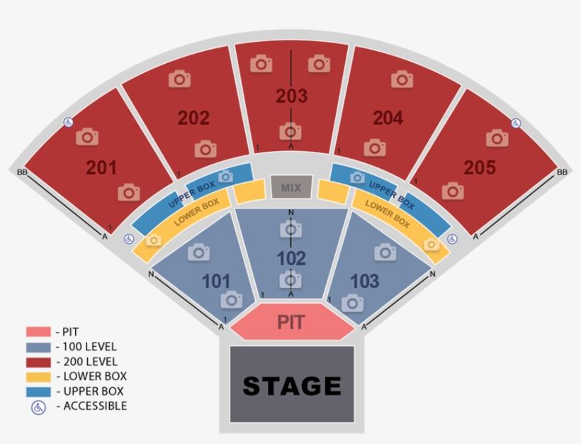 The Brandon Amphitheater Seating Map Brandon Amphitheater