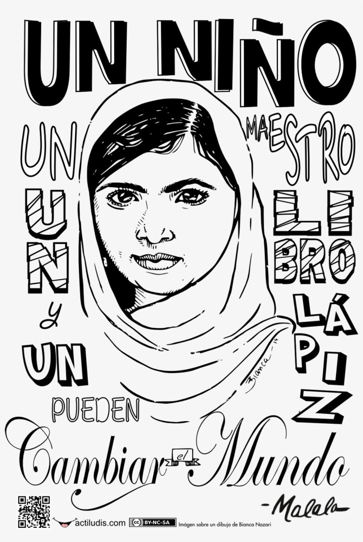 Mural Frase De Malala Yousafzai Mural De La Paz Día