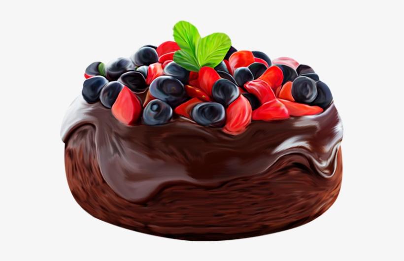 Gateau Au Chocolat Png Dessin Chocolate Cake 575x450 Png
